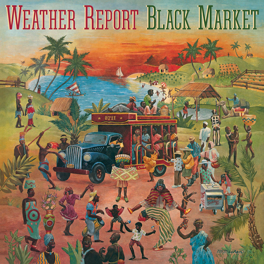 WEATHER REPORT | BLACK MARKET (180 GRAM AUDIOPHILE VINYL/LIMITED ANNIVERSARY EDITION)
