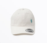 ICE Dad Hat White - ICE Cannabis