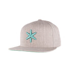 ICE Snapback Grey - ICE Cannabis