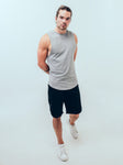 Everyday Tank Heather Grey - ICE Cannabis Athletica