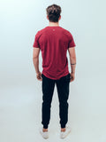 Everyday Tee Burgundy Red - ICE Cannabis Athletica