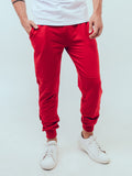 Agile Joggers Red - ICE Cannabis Athletica