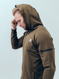 Athletic Hoodie Army Green - ICE Cannabis Athletica