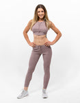 Warm-ups Leggings Mulberry Purple - ICE Cannabis Athletica