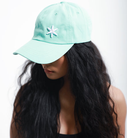 ICE Dad Hat Blue - ICE Cannabis Athletica