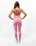 Rosé Pink Leggings - ICE Cannabis Athletica