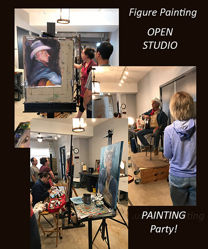 Check out Monthly Open Session Painting Party!!
