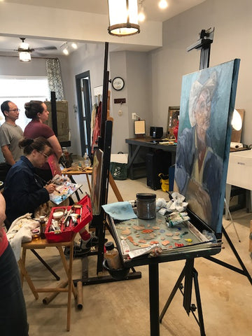 Monthly Open Studio at Atelier Garage--Starting back in January 2019!
