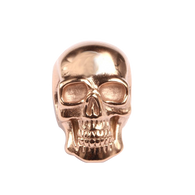 KERMAR - Nautical Link -Skull - Rose Gold Color