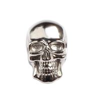 KERMAR - Nautical Link -Skull - Silver Color