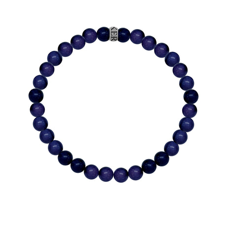KERMAR Blue Aventurine Bracelet 8MM with Stainless Steel Clasp (KM-0021)