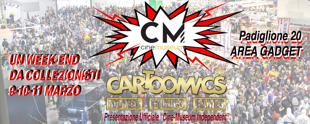 Cinemuseum CARTOOMICS 2018