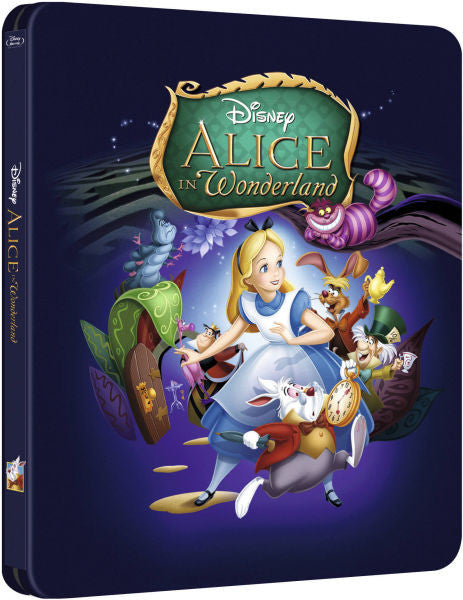Alice in Wonderland - Steelbook Edition