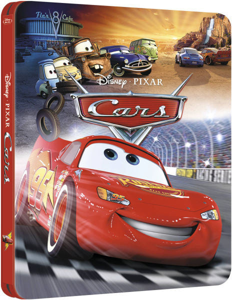 Cars 3D - Steelbook Edition