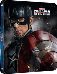 Captain America 3: Civil War 3D - Steelbook Edition