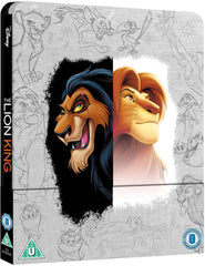 The Lion King Zavvi Exclusive (Blu-ray & 4K Ultra HD) Steelbook