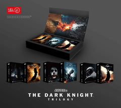 THE DARK KNIGHT TRILOGY - Hdzeta Exclusive Tripack Box Set