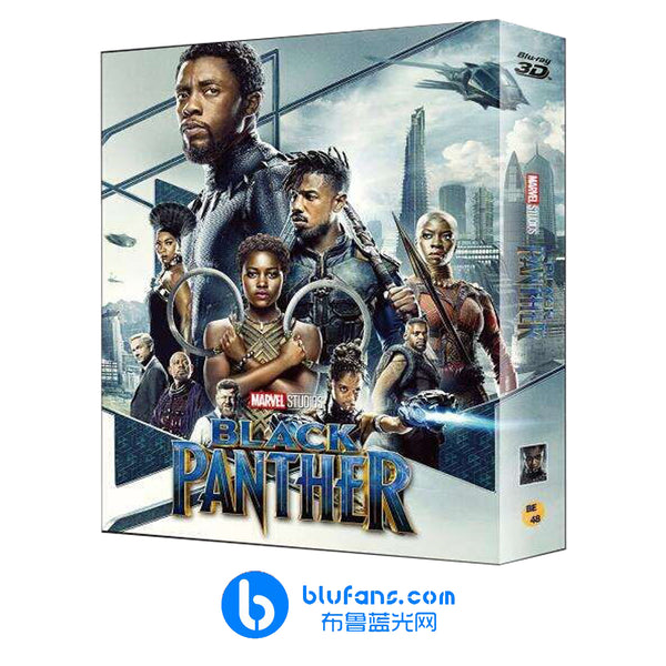 Black Panther - Blufans Exclusive #48 - Double Lenticular