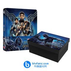 Black Panther - Blufans Exclusive #48 - 1/4 Slip + Special Box