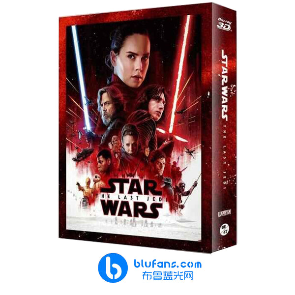 Star Wars: The Last Jedi - Blufans Exclusive #47 - FULL SLIP