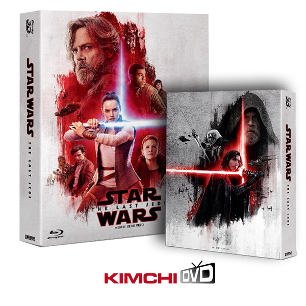 Star Wars: Episode VIII - The Last Jedi 2D+3D+Bonus Steelbook Limited Edition (3 disc)