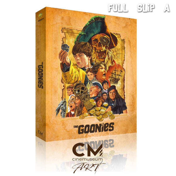 The Goonies (35th Anniversary) - CME#03 - Full Slip A [4K UHD + BR]