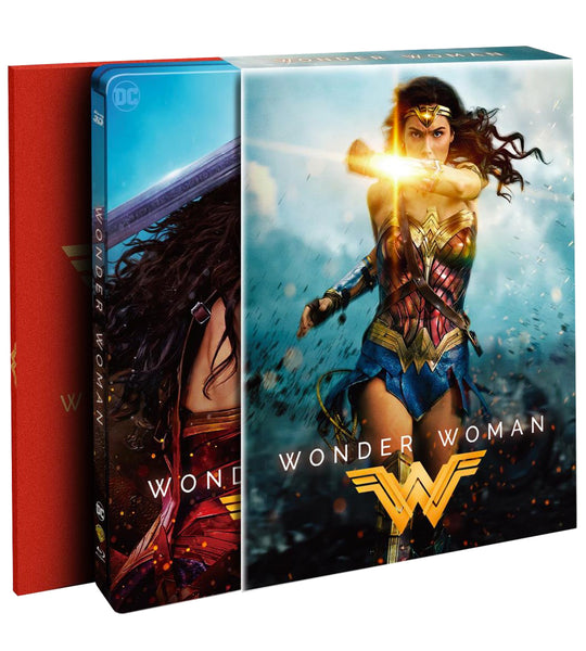 Wonder Woman - Hdzeta Exclusive Double Lenti Slipbox (2D+3D)