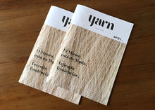 Yarn Nº01 Magazine