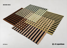 """Moire"" Rug"
