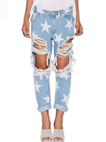 The American Dream Ripped Jeans
