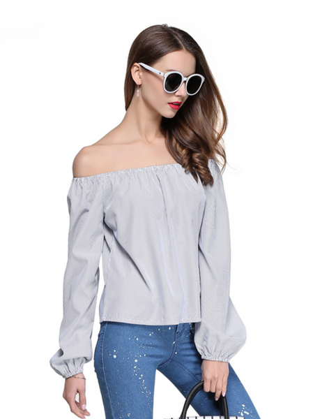 Stephanie's Off-the-Shoulder Top
