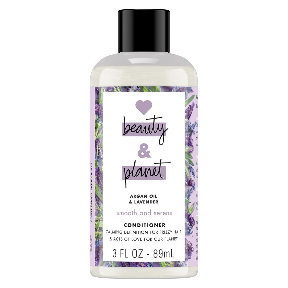 8df37f461e3 Travel Size Argan Oil & Lavender Conditioner by Love Beauty And Planet
