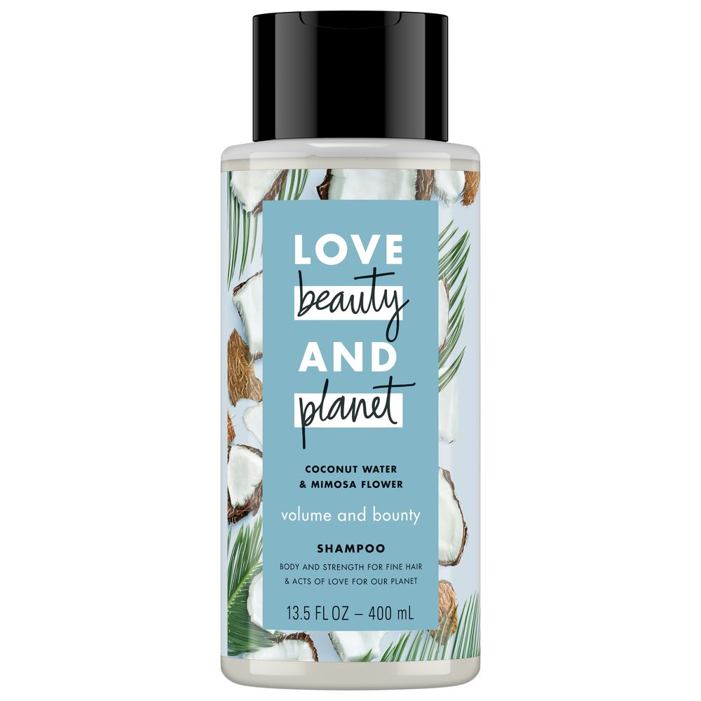 Coconut Water & Mimosa Flower Shampoo by Love Beauty And Planet