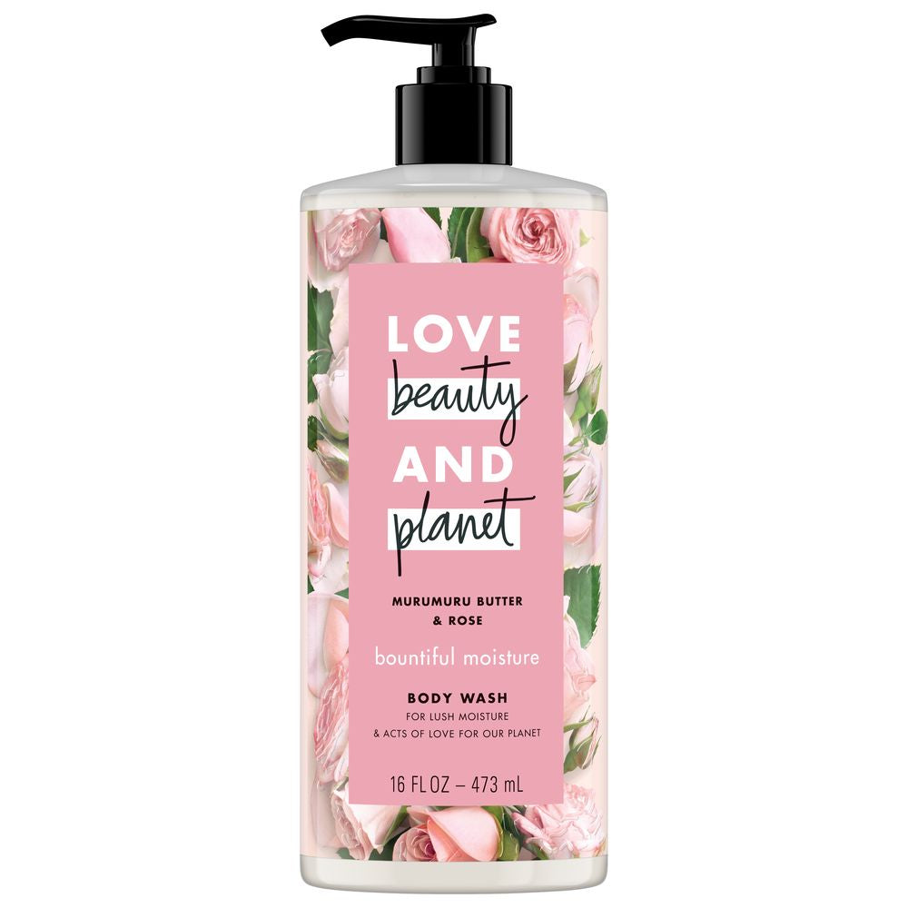 Murumuru Butter & Rose Body Wash by Love Beauty And Planet