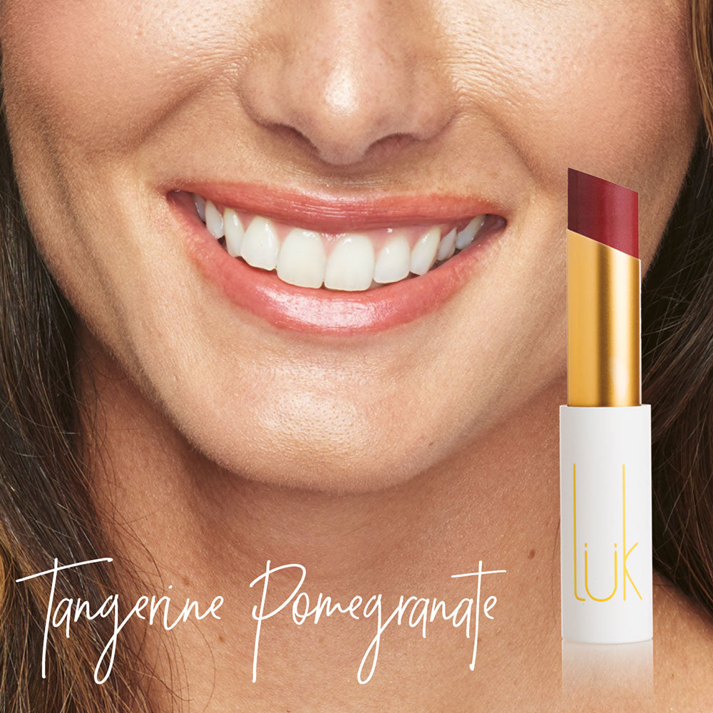 Tangerine Pomegranate Lip Nourish by Lük Beautifood