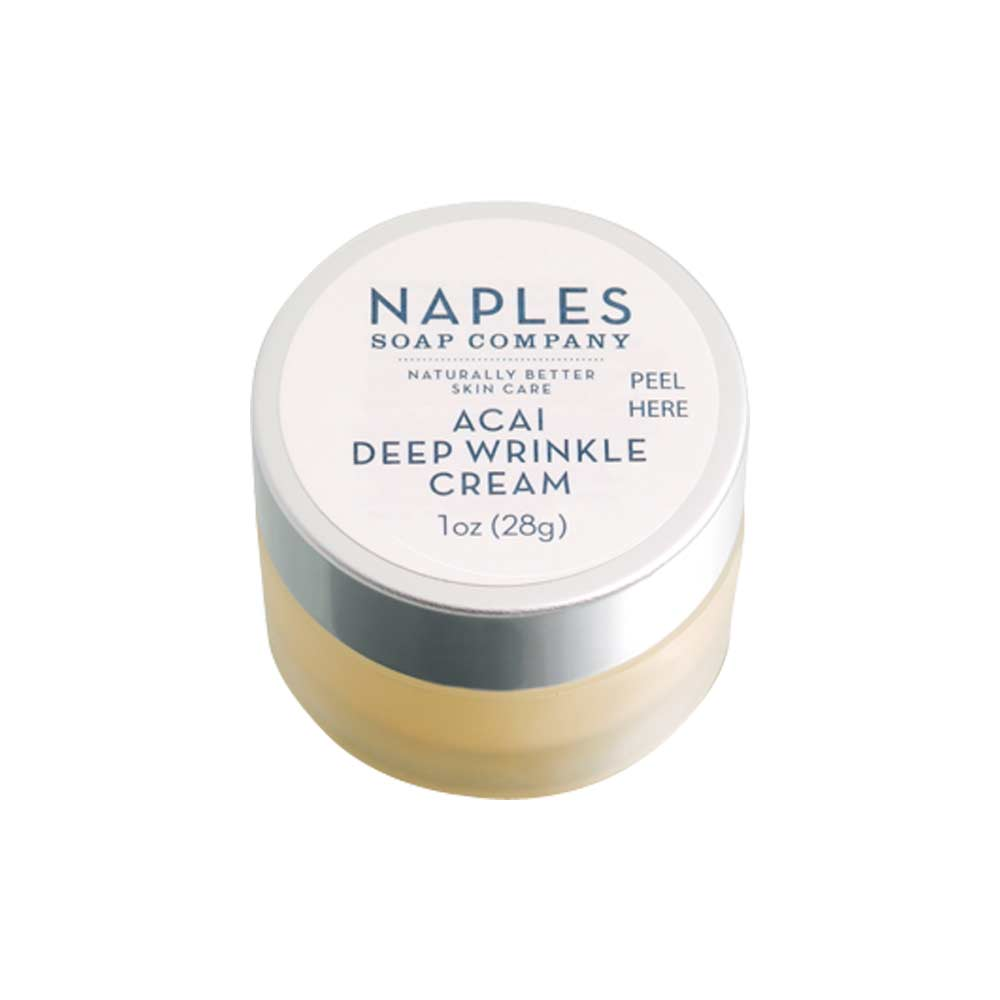 Acai Deep Wrinkle Cream by Naples Soap Company