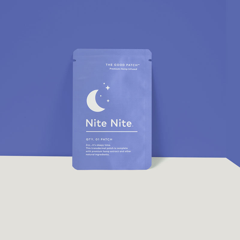 Nite Nite Patch (Hemp Infused) by The Good Patch