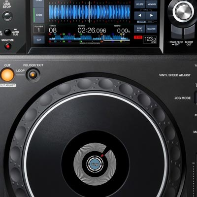 DJ CD & Media Players