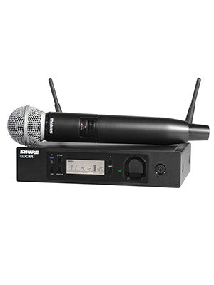 SHOP SHURE WIRELESS MICROPHONES