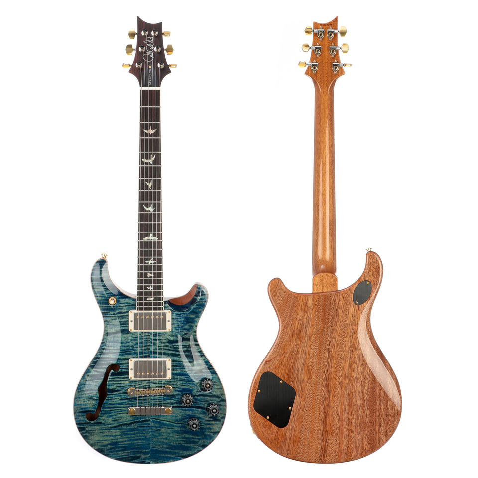 PRS McCarty 594 Semi-Hollow 10 Top Electric Guitar - River Blue Burst