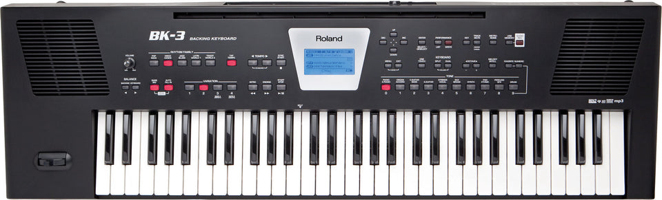 Roland BK-3-BK 61 Key Backing Keyboard