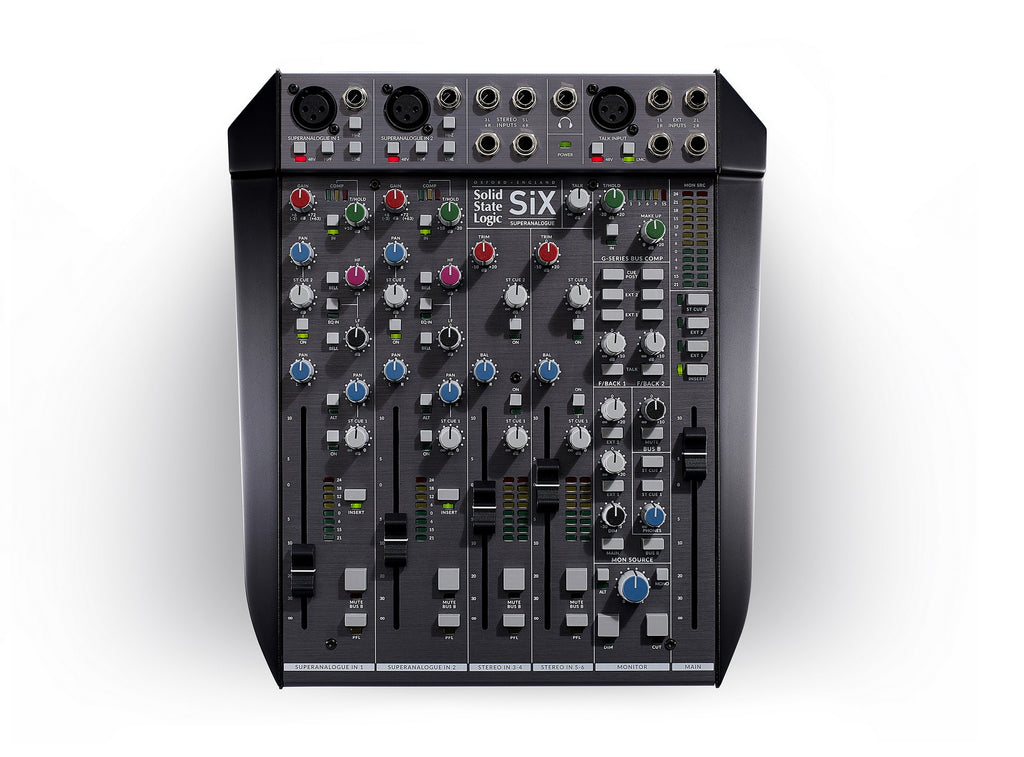 Solid State Logic SiX Ultimate Desktop Mixer