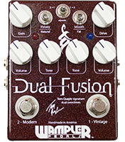 Wampler Dual Fusion Distortion Pedal