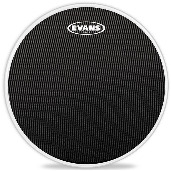 "Evans 13"" Hybrid-S Black Marching Snare Drum Head"