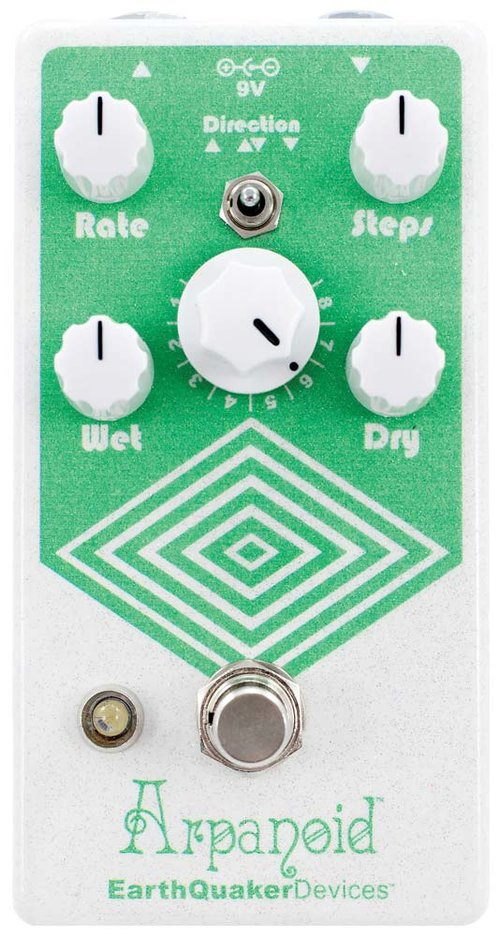 EarthQuaker Devices Arpanoid V2 Polyphonic Pitch Arpeggiator Pedal
