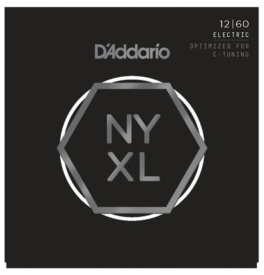 D'Addario NYXL1356W Nickel Wound Electric Guitar Strings, Medium Wound 3rd, 13-56