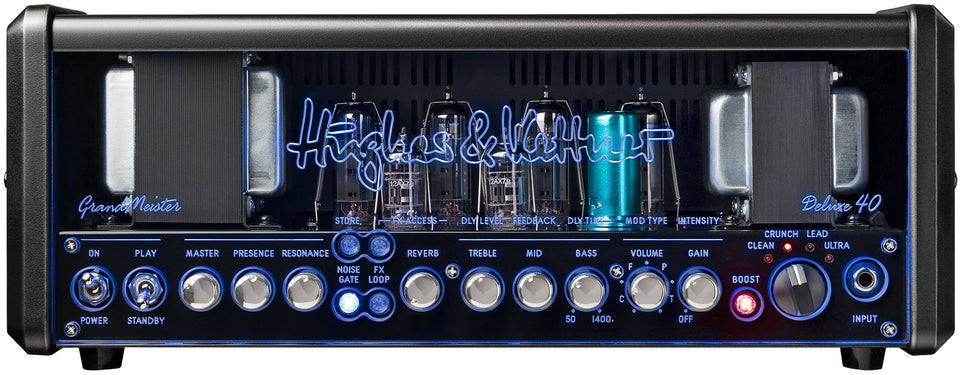 Hughes And Kettner GrandMeister Deluxe 40 All-Tube 40W Guitar Amp Head