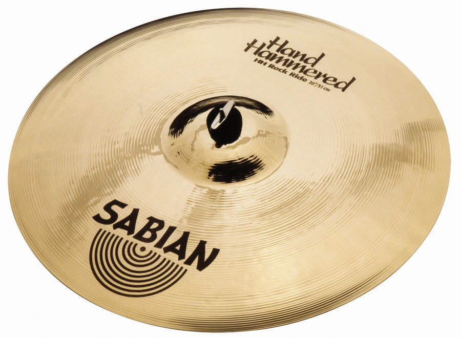 "Sabian 22"" HH Rock Ride Cymbal Brilliant Finish"