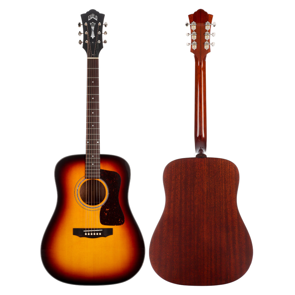 Guild D-40 Traditional Dreadnought Acoustic Guitar - Antique Sunburst
