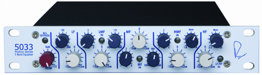 Rupert Neve Designs Portico 5033 Five Band EQ